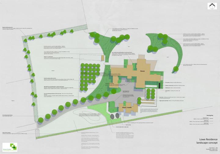 Dargaville residence plan