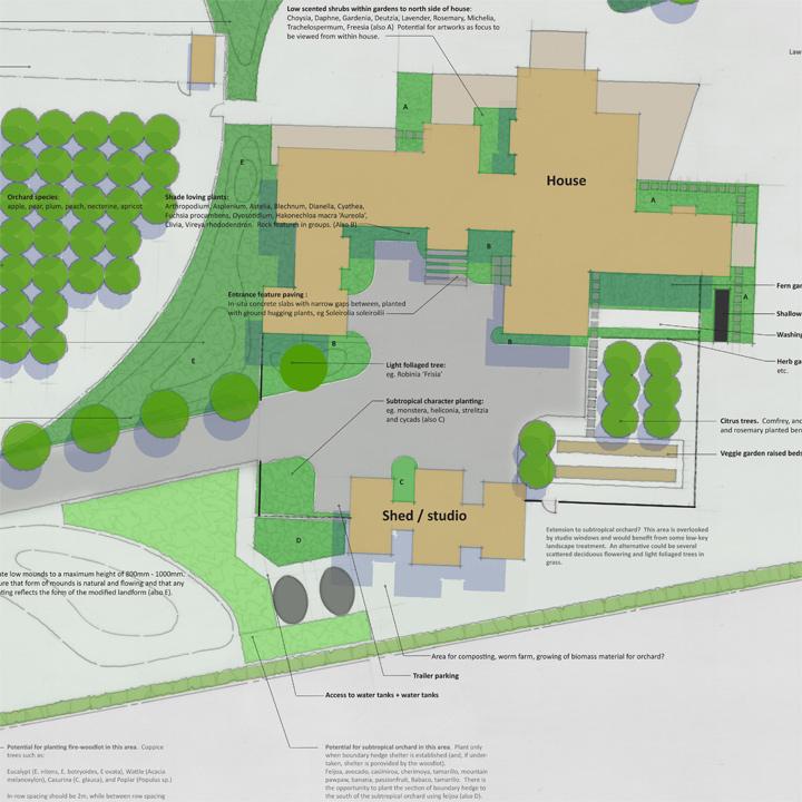 Detail: Residential Plan